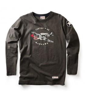 P-40 Warhawk T-Shirt manches longues