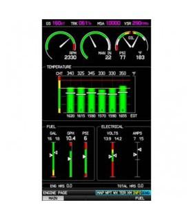 Kit de capteurs moteur 6 cylindres pour Garmin G3X