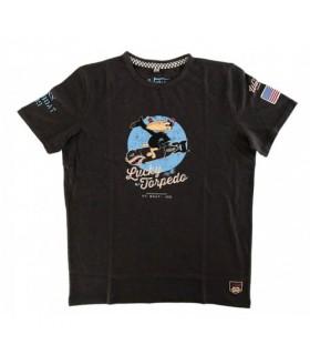 T-shirt Lucky Torpedo Carbone - Warson Motors