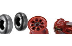 Roues, pneus, freins