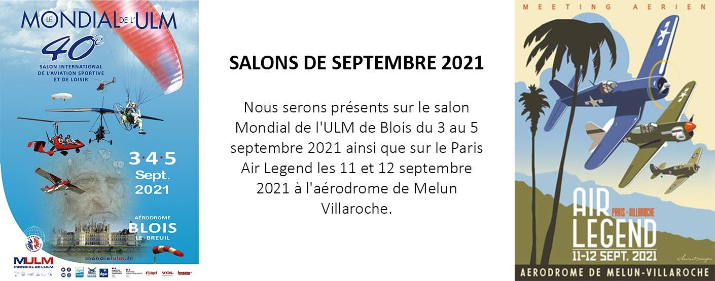 Bannière Salons septembre 2021