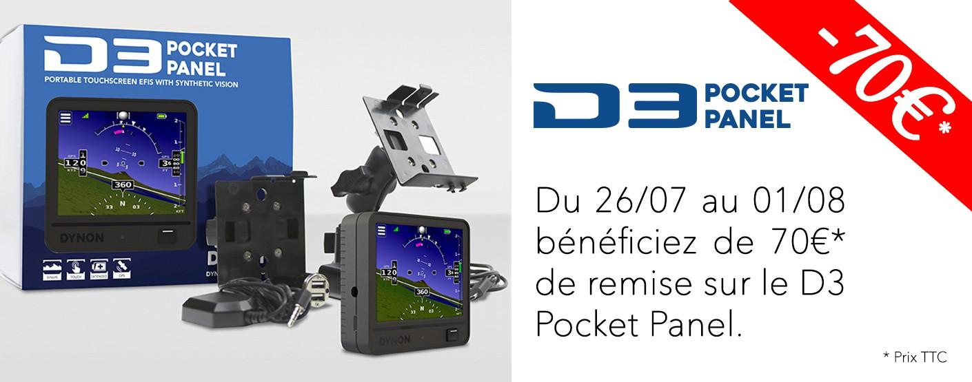 """Promotion D3 """"Pocket panel"""""""